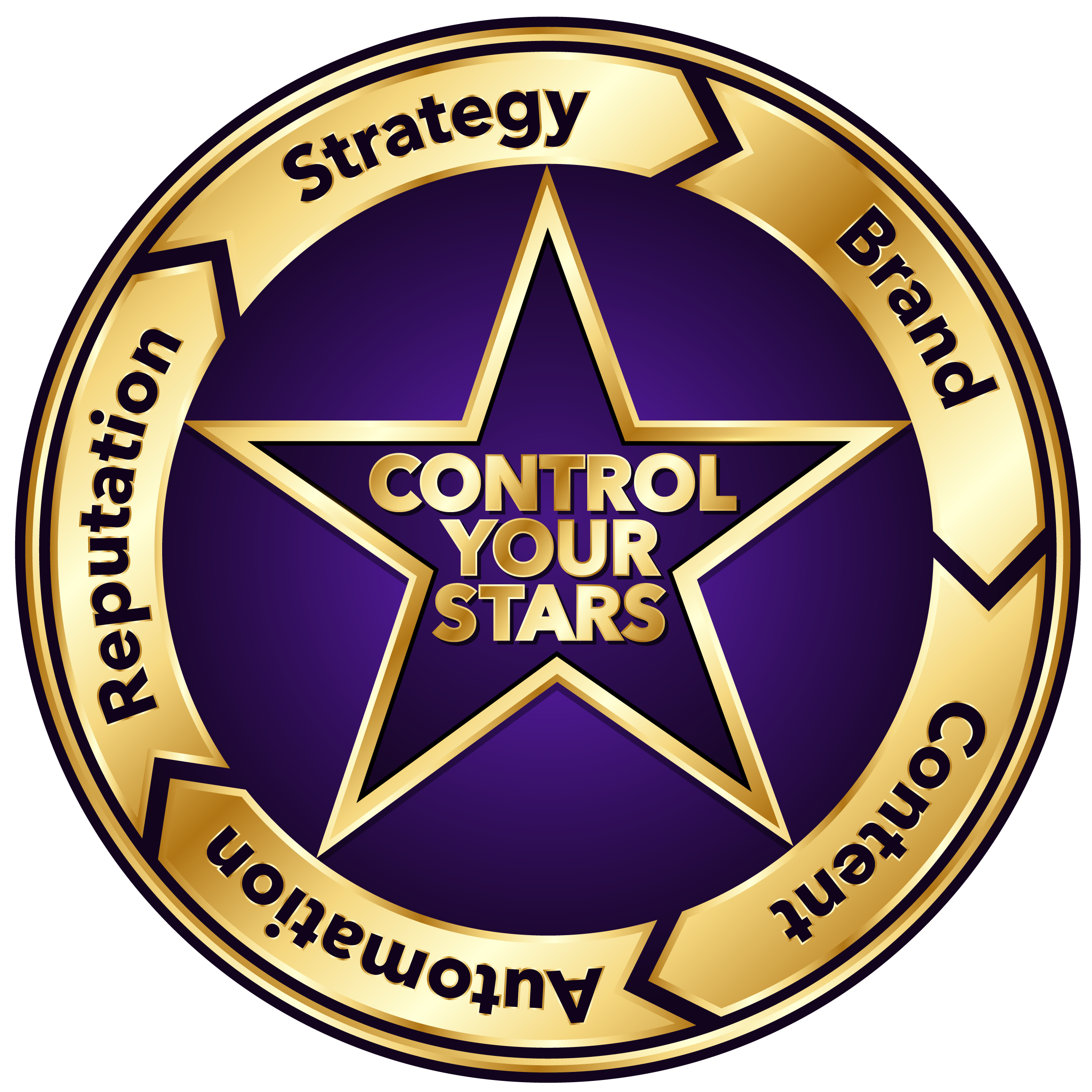 Control Your Stars Marketing Logo